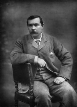 NPG Ax27656,Sir Arthur Ignatius Conan Doyle,by; published by Herbert Rose Barraud; Eglington & Co.