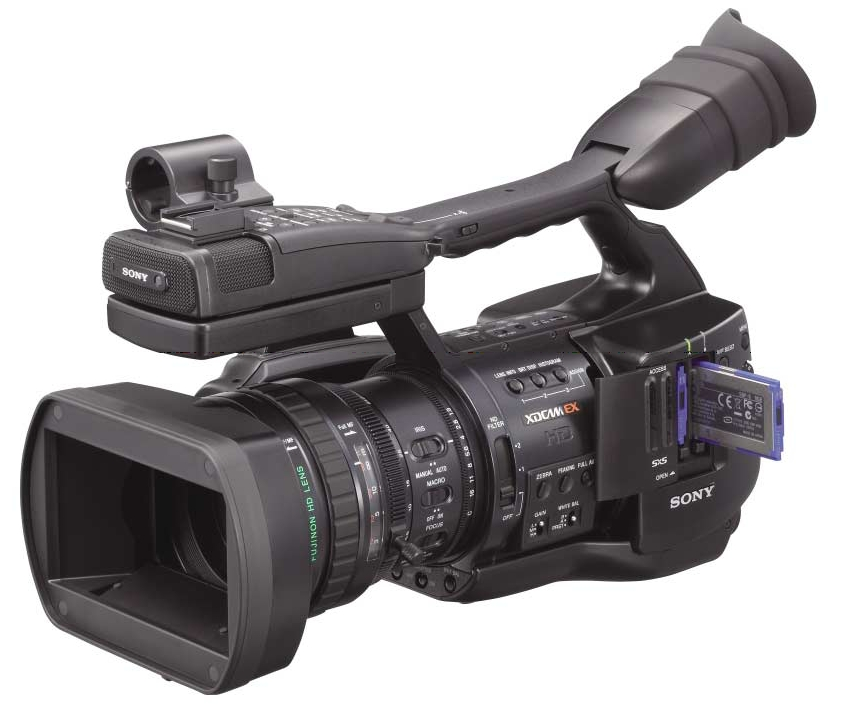 New Series: Sony xdcam PMW EX1